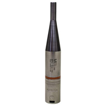 Microfono da misura a condensatore pre-polarizzato omnidirezionale 48V, fatto a mano in Italia, con anello colorato di riconoscimento e con connettore XLR